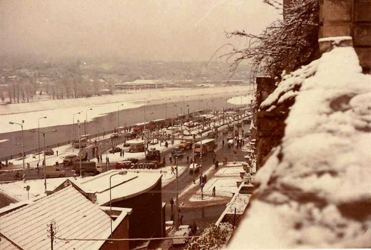 13 - JP Neve em Coimbra - a zona da Portagem, 1983