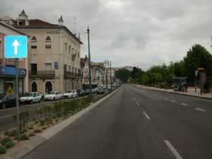 Avenida Emidio Navarro na actualidade