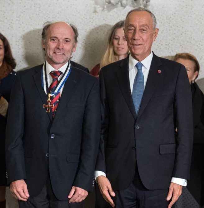 João Armando Gonçalves condecorado PR