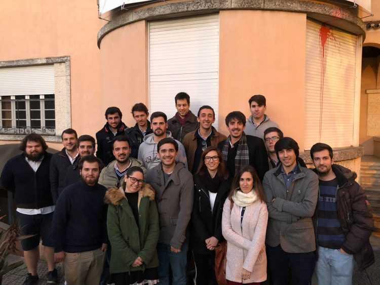 Foto com alguns dirigentes PSD