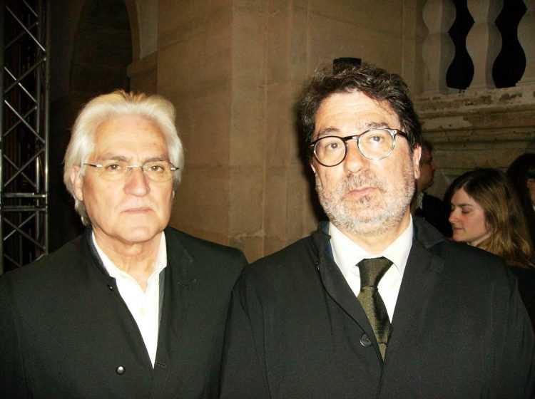 Lucas da Silva e Guilherme Figueiredo (bastonário da Ordem dos Advogados)