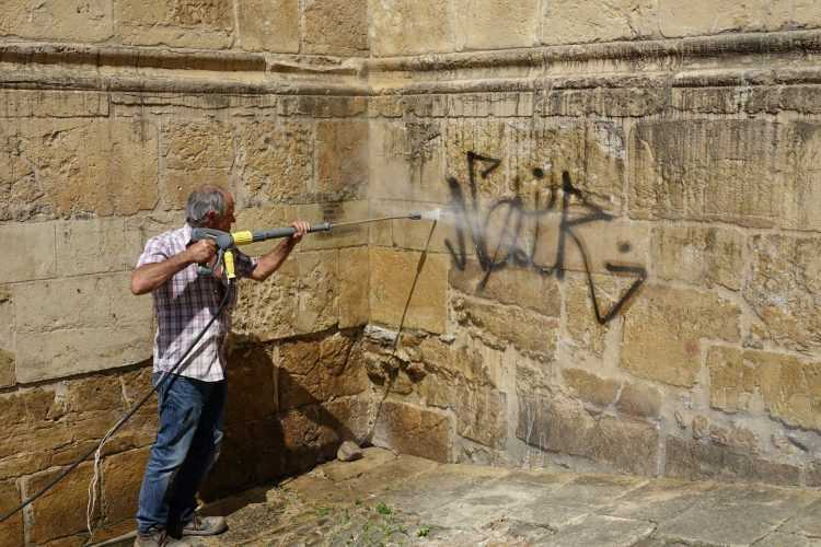 limpeza grafitis