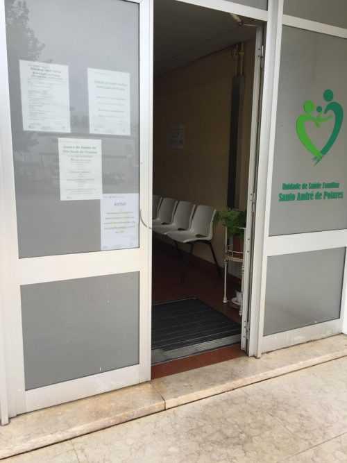 Entrada Centro Saúde Poiares