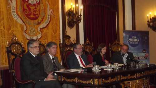 Carlos Cidade, Pedro Machado, Manuel Machado, Carina Gomes e Jorge Alves