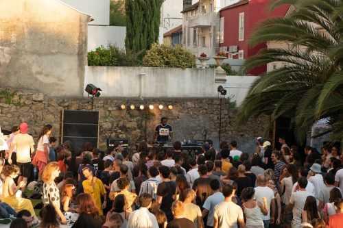 Festival música electrónica - Casa Artes Bissaya Barreto