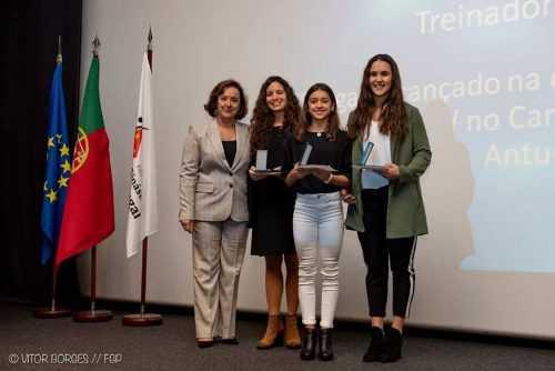 Trio sénior da AAC - Ana Rita Pratas, Ana Rita Fontes e Isis Coutinho