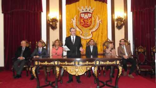 Mário Martins da Silva (ACP); Pedro Machado (Turismo do Centro); Ana Abrunhosa (CCDRC); Manuel Machado (Câmara de Coimbra); Luís Paulo Costa (Arganil); Lurdes Castanheira (Góis) e Luís Antunes (Câmara da Lousã)