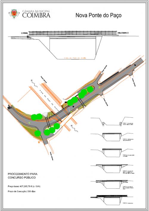 Projecto ponte do Paço